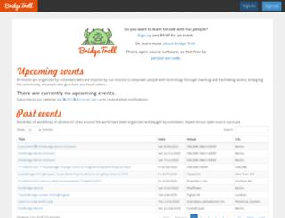 bridgetroll.org screenshot