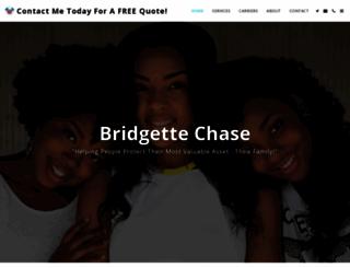 bridgettechase.com screenshot