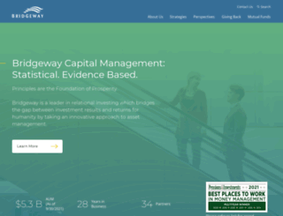 bridgeway.com screenshot