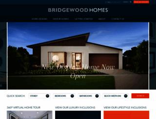 bridgewood.com.au screenshot