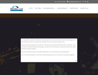 bridgingthegap.co.za screenshot