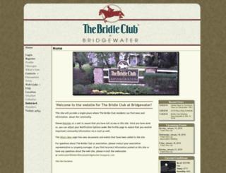 bridleclubatbridgewater.hoaspace.com screenshot