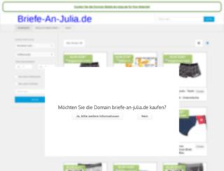 briefe-an-julia.de screenshot