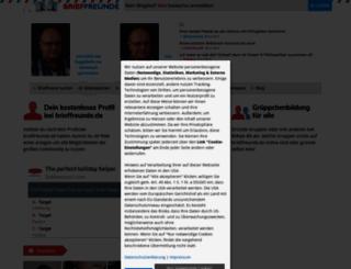 brieffreunde.de screenshot
