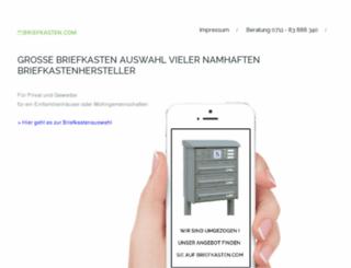 briefkasten-sonderverkauf.de screenshot
