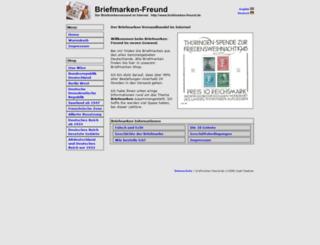 briefmarken-freund.de screenshot