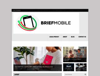 briefmobile.com screenshot