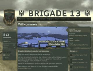 brigade13.clans.de screenshot