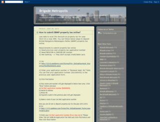 brigademetropolis.blogspot.com screenshot