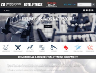 brigadoonfitness.com screenshot