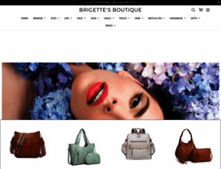 brigettesboutique.com screenshot
