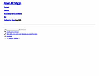 briggs.net.nz screenshot