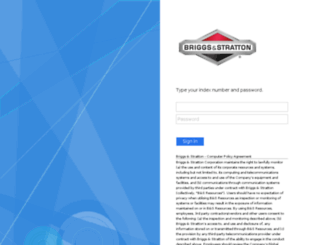 briggsandstratton.csod.com screenshot