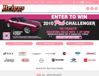 briggsauto.com screenshot