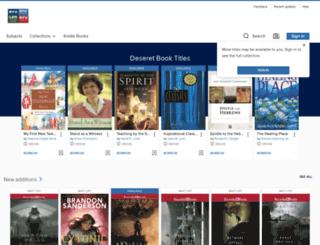 brighamyoung.libraryreserve.com screenshot