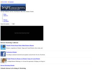 bright-internet-marketing.com screenshot