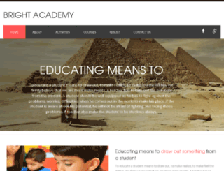 brightacademy.org.in screenshot
