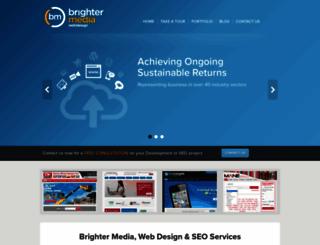 brighter-media.co.uk screenshot
