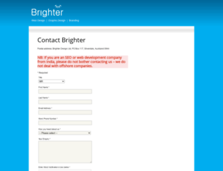 brighterdesign.co.nz screenshot
