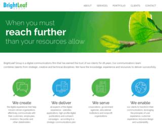 brightleafgroup.com screenshot