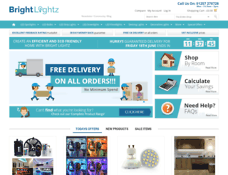 brightlightz.co.uk screenshot