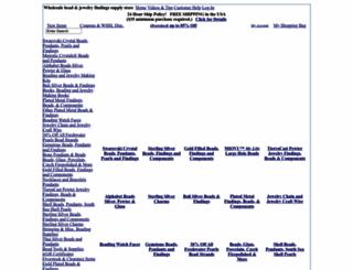 brightlingsbeads.com screenshot