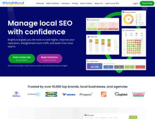 brightlocal.com screenshot