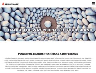 brightmarkconsulting.com screenshot