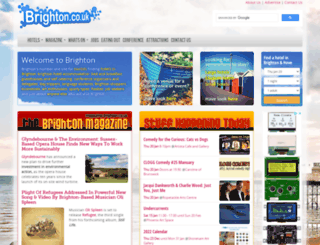 brighton.co.uk screenshot