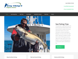 brightoncharterfishing.co.uk screenshot