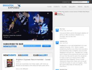 brightonexposed.com screenshot