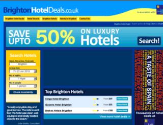 brightonhoteldeals.co.uk screenshot