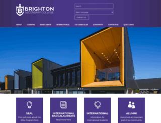 brightonsc.vic.edu.au screenshot