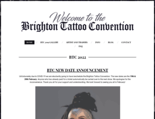 brightontattoo.com screenshot