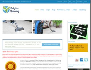 brightscleaning.co.uk screenshot