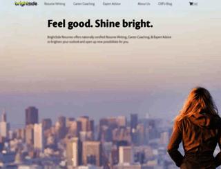 brightsideresumes.com screenshot