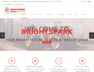 brightsparkconsult.com screenshot