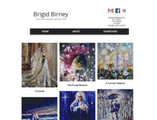 brigidbirney.com screenshot