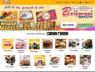 brijwasibakery.com screenshot