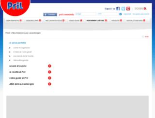 brillaconpril.pril.it screenshot