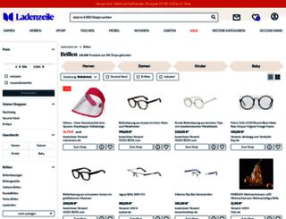 brillen.ladenzeile.de screenshot
