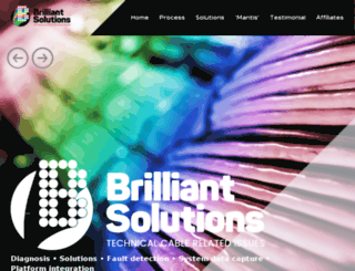 brilliant-solutions.co.uk screenshot