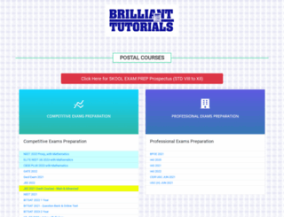 brilliant-tutorials.com screenshot