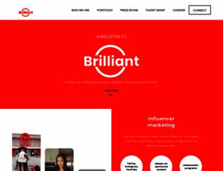brilliantbabyproducts.com screenshot
