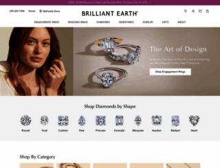 brilliantearth.com screenshot