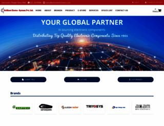 brilliantelectronics.com screenshot