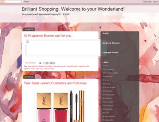 brilliantshopping.blogspot.com screenshot