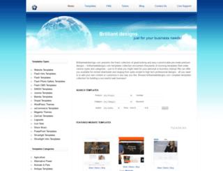 brilliantwebdesigns.com screenshot