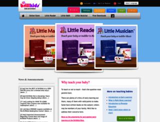 brillkids.com screenshot
