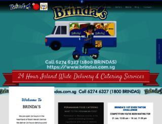 brindas.com.sg screenshot